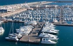Harbour of Alicante, Spain